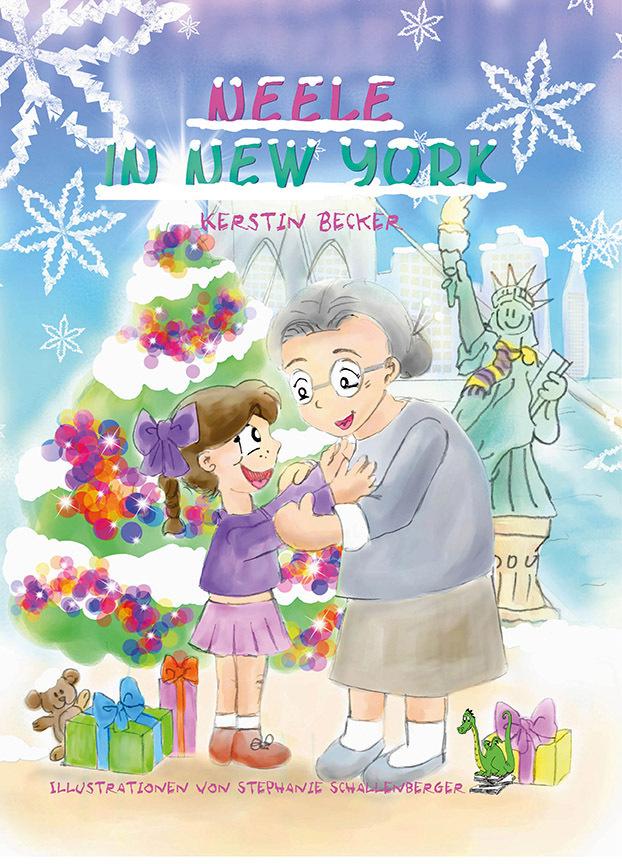 Neele in New York - Weihnachten, New York, Amerika, USA