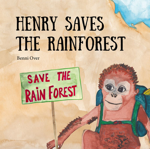 1166 Henry saves the rainforest - Paperback